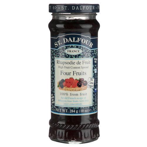 مربا چهار میوه سن دالفور مقدار 284 گرم