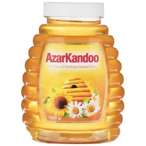 عسل طبیعی آذرکندو وزن 1.5 کیلوگرم