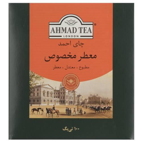 چای کیسه ای احمد مدل Extra Special بسته 100 عددی