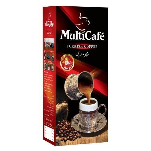 قهوه ترک مولتی کافه مقدار 100 گرم
