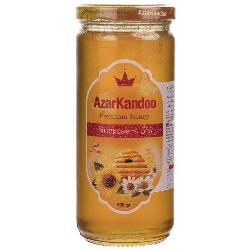 عسل طبیعی آذرکندو مقدار 630 گرم