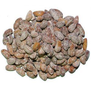 مغز بادام پودر نمکی فله مقدار 250 گرم