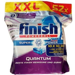 قرص ماشین ظرفشویی فینیش مدل XXL بسته 52 عددی