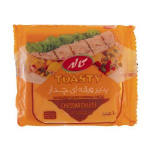 پنیر ورقه ای چدار کاله مقدار 180گرم