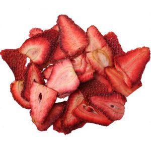 توتفرنگی خشک فله مقدار 500 گرم