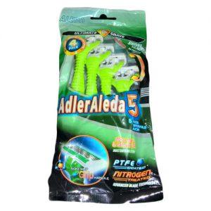 خود تراش ادلر الدا مدل 5 Blade بسته 4 عددی