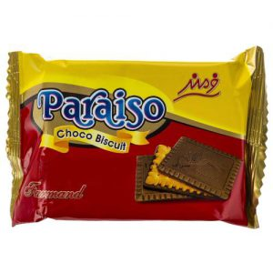 بیسکوئیت شکلاتی فرمند سری پارایسو مقدار 42 گرم