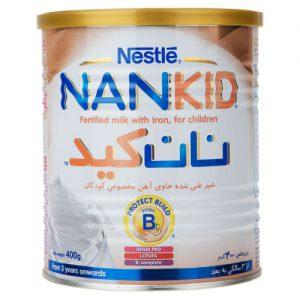 شیر مخصوص کودکان در حال رشد حاوی آهن نان کید نستله مقدار 400 گرم