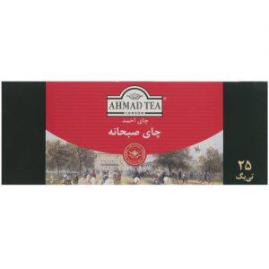 چای کیسه ای احمد مدل Breakfast بسته 25 عددی