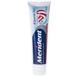 خمیر دندان سفید کننده مریدنت سری Fluoride Plus مدل Cinnamon مقدار 130 گرم