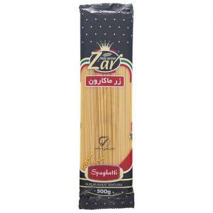 اسپاگتی لینگوئینی زر ماکارون مقدار 500 گرم