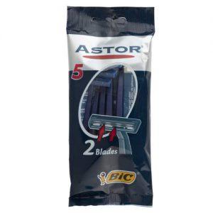 خود تراش بیک مدلAstor بسته 5 عددی
