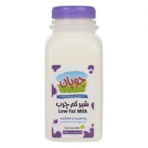 شیر کم چرب چوپان مقدار 235 گرم