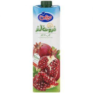 آب میوه انار میهن حجم 1 لیتر
