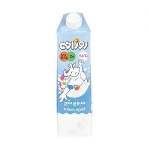 سوپر شیر کم چرب روزانه مقدار 1 لیتر