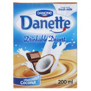 دسر نوشیدنی شکلات نارگیل دنت حجم 0.2 لیتر