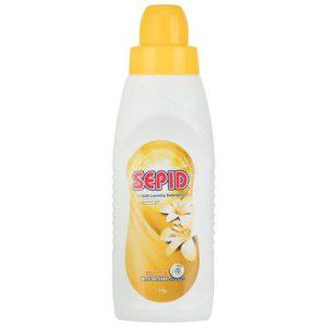 مایع لباسشویی زرد سپید مقدار 1 کیلو گرم