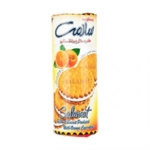 بیسکویت کرمدار پرتقالی سلامت مقدار 400 گرم