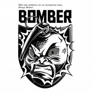 بمب سیاه و سفید   The bomber black and white