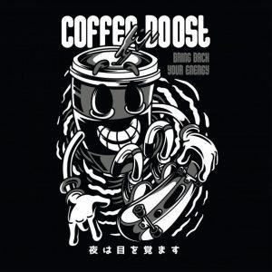 قهوه باعث افزایش رنگ سیاه و سفید می شود| Coffee boost black n white