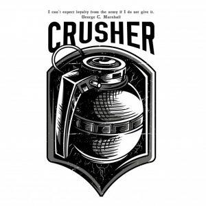 سنگ شکن سیاه و سفید   Crusher black and white