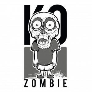 بچه زامبی سیاه و سفید | Kid zombie black and white