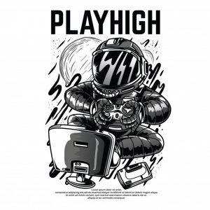 بازی سنگین سیاه و سفید   Playhigh black and white