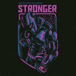 ربات قوی | Stronger robot