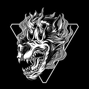 گرگ سیاه و سفید غیر قابل توقف | Wolfie the unstoppable black and white