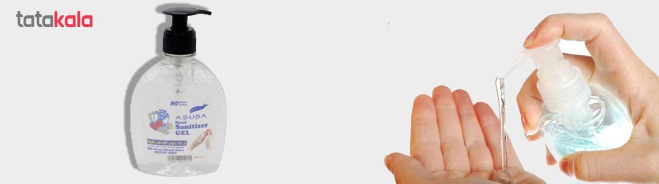 ژل ضدعفونی کننده دست آشوشا ۳۲۰ میلی لیتر