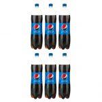 نوشابه کولا پپسی – ۱٫۵ لیتر بسته ۶ عددی
