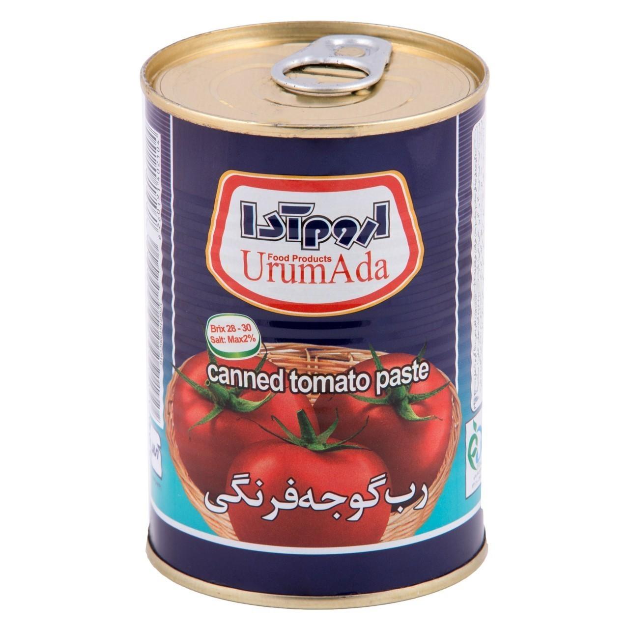 کنسرو رب گوجه فرنگی اروم آدا مقدار ۷۰۰ گرم
