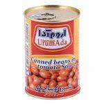 کنسرو لوبیا چیتی در سس گوجه فرنگی اروم آدا مقدار ۴۰۰ گرم