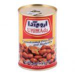 کنسرو لوبیا چیتی با قارچ در سس گوجه فرنگی اروم آدا مقدار ۴۰۰ گرم