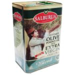 روغن زیتون سالبورا مقدار ۴ لیتر salburua
