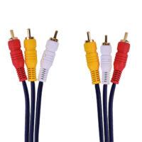 کابل تبدیل 3 به 3 RCA تسکو مدل TC 12 طول 1.5 متر