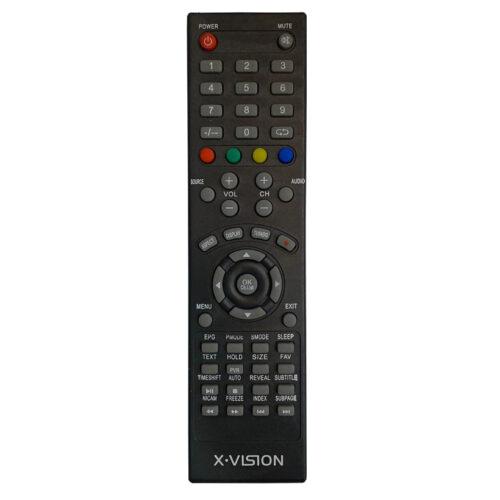 ریموت کنترل تلویزیون ایکس ویژن مدل 338