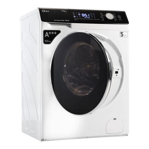 ماشین لباسشویی جی پلاس مدل GWM-K1048W ظرفیت 10.5 کیلوگرم