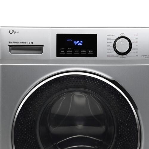 ماشین لباسشویی جی پلاس مدل K824 ظرفیت 8 کیلوگرم