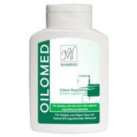 شامپو کاهش دهنده چربی مای مدل Oilomed حجم 200 میلی لیتر